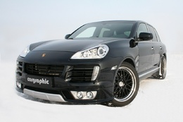 Porsche Cayenne diesel par Cargraphic