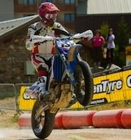 Supermotard, championnat Internationnal d'Italie 2012, round 5: Chareye (T)/ Hermunen, une manche partout!
