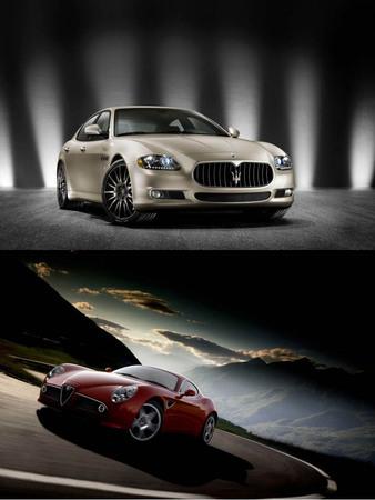 Une plateforme commune pour Alfa Romeo et Maserati