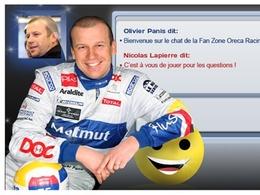 """(Le Mans 2010) T'chat à 14h30 avec Olivier Panis et Nicolas Lapierre, pilotes de la Peugeot """"Oreca"""""""