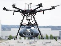 Seat imagine une chaîne de production assistée par des drones