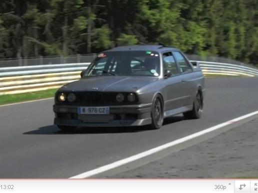 BMW M3 E30 Turbo DM Performance : le retour au Nürburgring