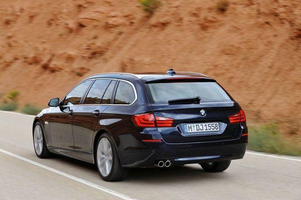 [Vidéo] La nouvelle BMW Série 5 Touring est officielle