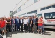 Actualité - Ducati: Trois fourgons Volkswagen pour l'Emilie Romagne