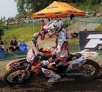 Motocross mondial :  Suède, 1ère manche MX 1, holeshot et victoire pour Cairoli