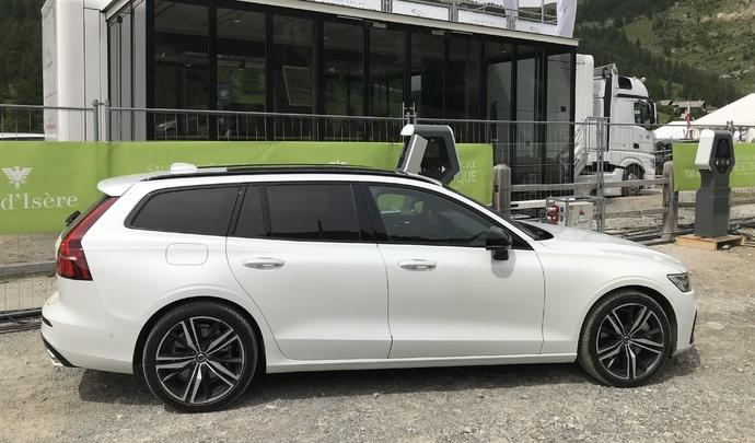 Volvo V60, XC60 et XC90 Twin Engine: petite amélioration - Vidéo en direct du salon de Val d'Isère 2019