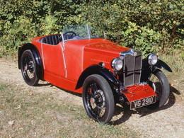 Réponse du quizz de vendredi dernier: C'était la MG M-Type Midget  1930 !
