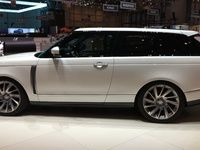 Range Rover SV Coupé : quand moins, c'est trop - Vidéo en direct du salon de Genève 2018