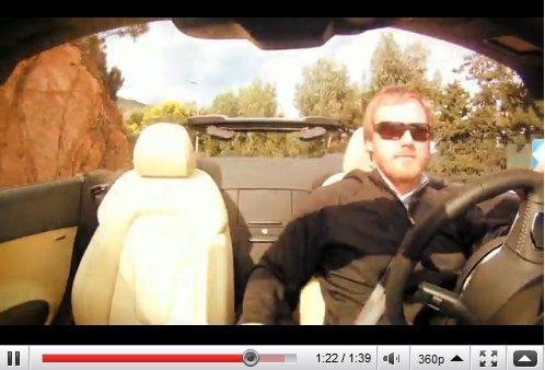 """[vidéo] 1'40"""" de relaxation en Audi R8 Spyder (respirez, soufflez, on est bien)"""