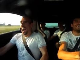 Franck Ribéry fait un 360° en Megane 3 RS