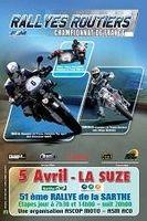 Championnat de France des Rallyes routiers, Rallye de la Sarthe
