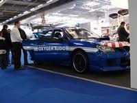 La Subaru STI Oxygen Audio saisie par la Gendarmerie..