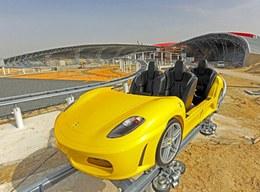 Les montagnes russes en Ferrari 430 GT, bientôt à Abu Dhabi