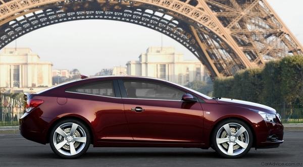 Chevrolet Cruze : bientôt en coupé ?