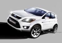 Ford Kuga. le Iosis-X de série ?