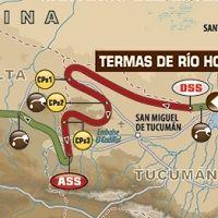Dakar - étape 3 : le parcours du jour