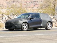 Future Volkswagen Scirocco dans la Vallée de la mort