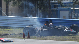 ALMS : Miracle à Sebring, Jon Field indemne