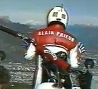 Le record du monde de saut en longueur d'Alain Prieur en images