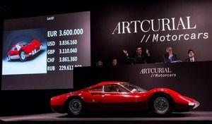 Rétromobile 2017 : les résultats de la vente Artcurial
