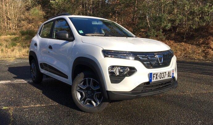 Dacia Spring (2021) - les premières images de l'essai en live
