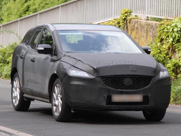 Le futur Mazda CX-5 en promenade
