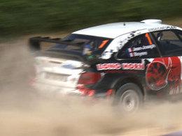 Simon Jean-Joseph s'impose sur sa Citroën Xsara WRC à l'Auxerrois