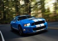 Détroit 2009 : Nouvelle Ford Mustang Shelby GT500, 540 poneys sous un bleu de France