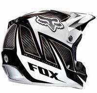 Le casque Fox V3 s'habille de carbone !