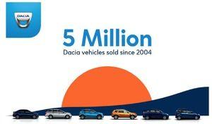 Dacia: la barre des 5 millions de ventes dépassée