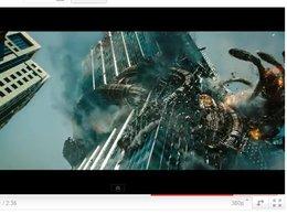 Transformers 3 ... énième bande-annonce : peur sur l'Amérique, une tour s'effondre ...