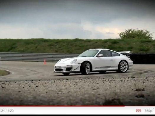 [vidéo] La Porsche 911 GT3 RS 4.0l s'anime