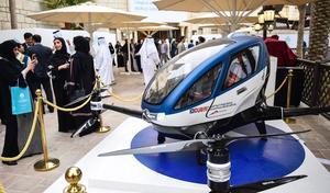 Dubaï: et maintenant le taxi drone électrique!