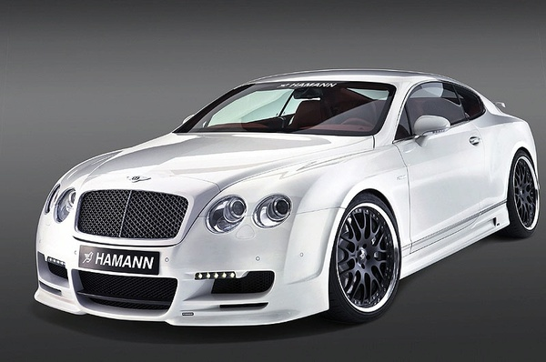 Hamann s'attaque à la Bentley Continental GT