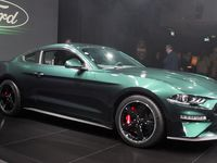 En direct de Genève : La Mustang Bullitt débarque en Europe