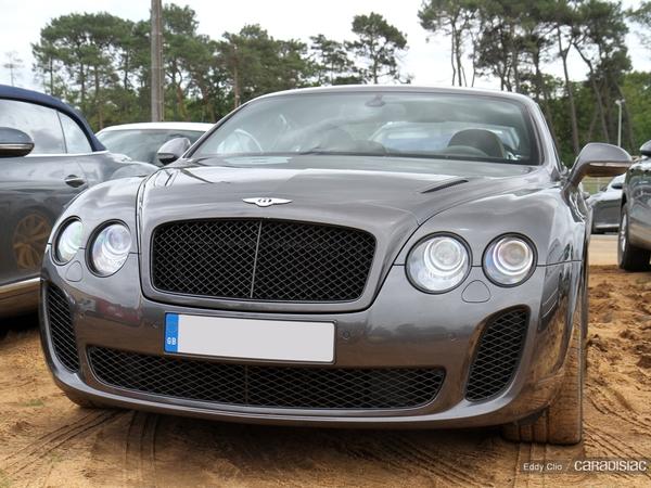 Photos du jour : Bentley Continenal GT Supersport (Le Mans)