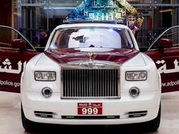La police d'Abu Dhabi s'offre une Rolls-Royce Phantom !