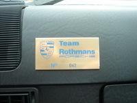 Réponse du quizz de vendredi dernier: C'était la Porsche 944 Rothmans.