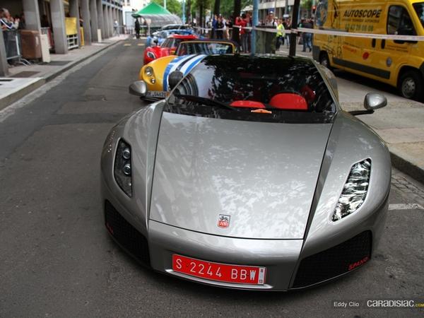 Photos du jour : GTA Spano (Parade des Pilotes du Mans)