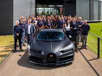 Bugatti fête sa 200e Chiron produite