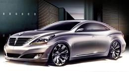 Détroit 2009 : Hyundai Equus en approche