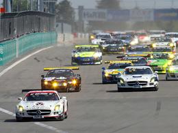 1er succès de la saison pour la Mercedes SLS en VLN