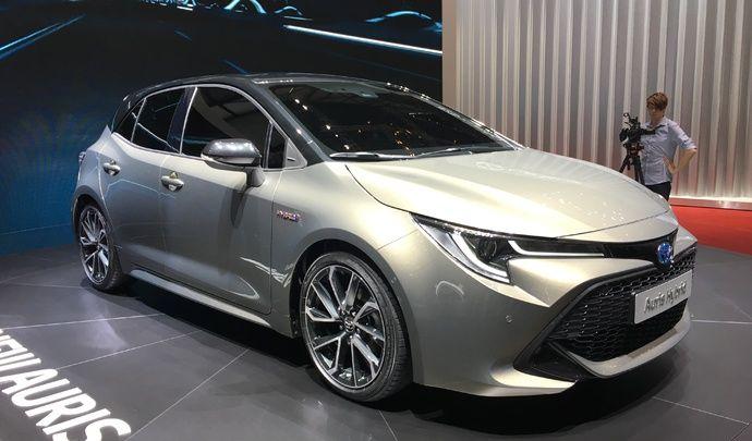 Toyota Auris : jolie maquette - Vidéo en direct du salon de Genève 2018