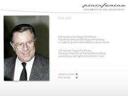 Sergio Pininfarina est mort