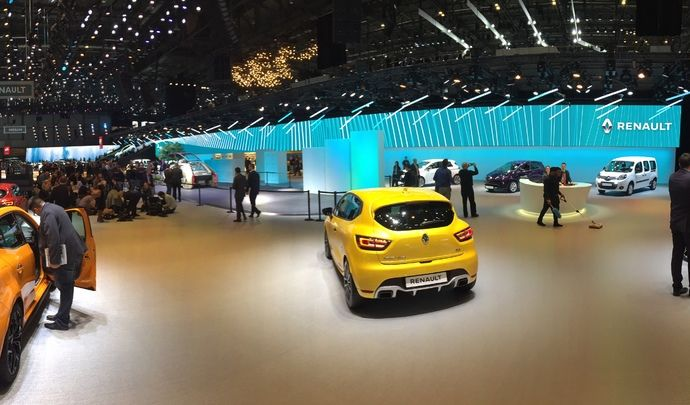 Salon de Genève 2018 - Renault fait profil bas