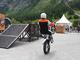 La démonstration de trial : décoiffant - Vidéo en direct du salon de Val d'Isère