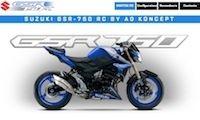 Tuning: AD Koncept, configurateur pour Suzuki GSR 750... 220 possibilités au programme