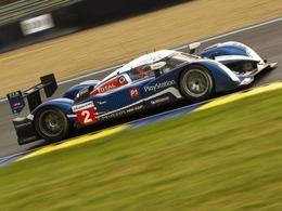 H+12 : La Peugeot n°2, seule 908 en tête