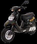 Nouveauté scooter série limitée : MBK Booster Dark Dog