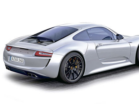 "Future Porsche 961: la ""grosse"" Porsche"